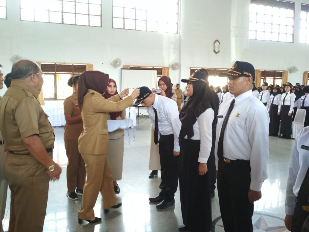 Pesan Walikota Kotamobagu Kepada 232 CPNS Peserta Diklat Dasar