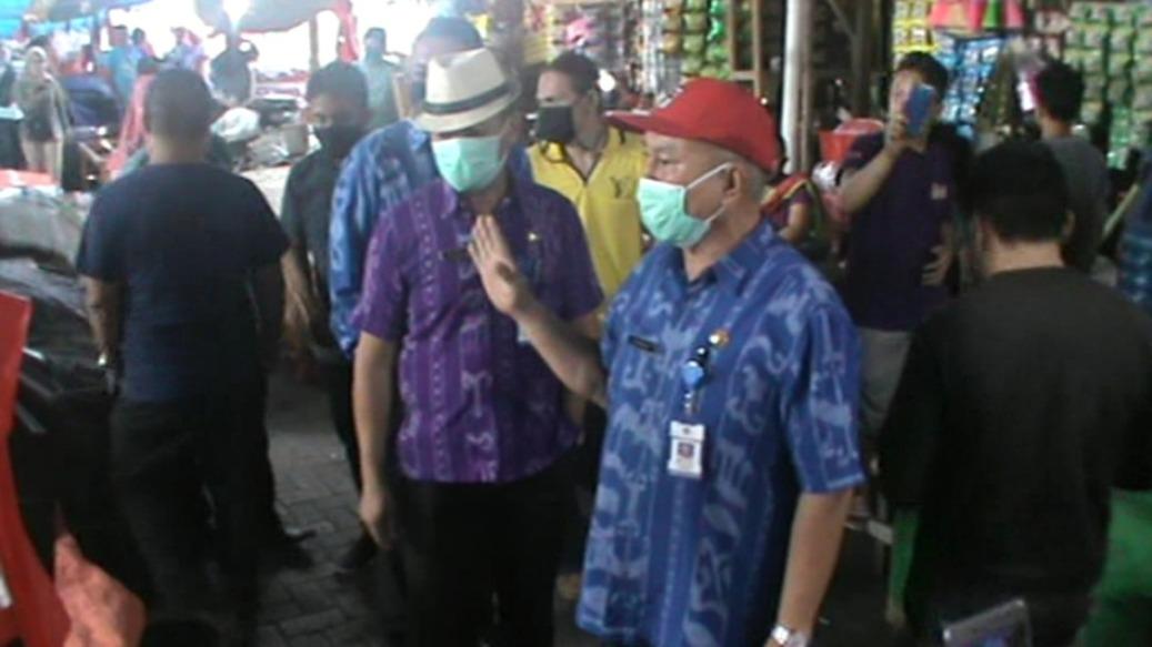Edaran Walikota Kotamobagu Tentang Pembatasan Jam Operasional, Tim Gabungan Sidak Tiga Pasar