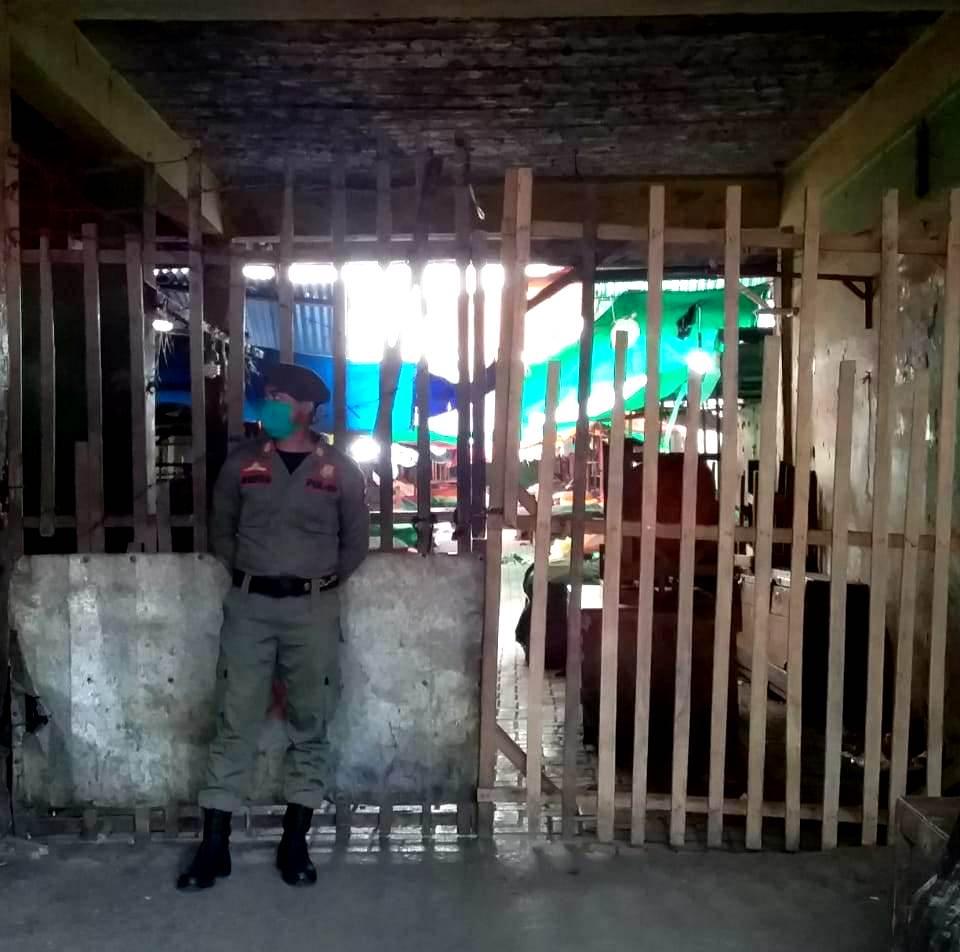 Polisi Pamong Praja, Jaga Pintu Masuk Pasar Pocil, Pasar Serasi dan Pasar 23 Maret