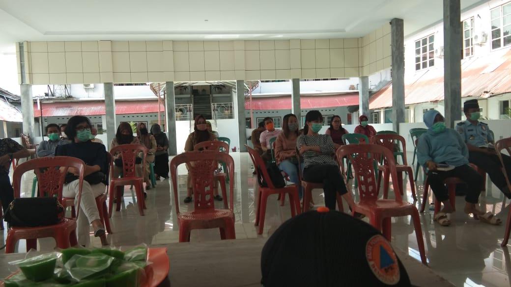 Antisipasi Penyebaran Covid 19, Tim Gugus Tugas dan Pemilik Hotel di Kotamobagu Gelar Rapat Kordinas
