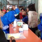 Spesimen test swab milik 63 warga Kotamobagu yang reaktif versi rapid test hari ini dichek langsung ke Manado oleh Dinkes Kota Kotamobagu