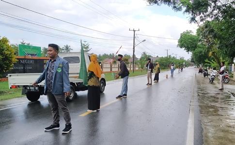 IPNU-IPPNU Bolmut Gelar Aksi Solidaritas Untuk Korban Banjir Bolmong-Bolsel.