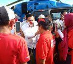 Ketua Fraksi PDIP Sulut Rocky Wowor Kunjungi Beberapa Tempat Di BMR
