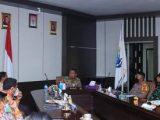 Bupati Depri Pontoh Ikut Vicon Bersama Satgas Covid-19 Se-Provinsi Sulawesi Utara