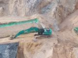 Ini Aktifitas Terkini PETI di Boltim, Puluhan Excavator Tanpa Henti Ratakan Perbukitan