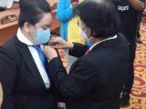 Cicilia Longdong Resmi Dilantik Sebagai PAW Anggota DPRD Manado