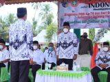 Bupati Bolmut Depri Pontoh Pimpin Upacara HUT PGRI Ke 75 dan HGN 2020
