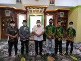 IPNU-IPPNU Bolmut Silaturahmi Dengan Bupati Depri Pontoh