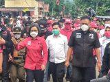 Politisi Muda Rocky Wowor Terus Dampingi ODSK Selama Tiga Hari Kampanye Di BMR