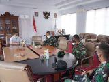 Pemkot Kotamobagu Kedatangan Tamu Kehormatan Komandan Batalion 713 Satyatama Gorontalo