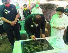 Ketua MP GPdl Pdt.DR.Johnny Weol, Resmikan Gedung GPdl Karmel Desa Tondei Induk, Minsel