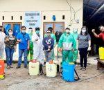 Didukung Lurah Tumobui, PPA ID 231 Victory Gelar Penyemprotan Disinfektan Covid 19