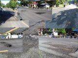 Jalan Berlubang Desa Duini Bolmut Dikeluhkan Warga