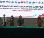 Walikota Kotamobagu MoU Dengan Bank SulutGo Soal Peningkatan PAD