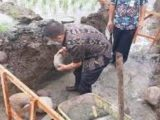 Tumobui Kecipratan Bantuan Irigasi, Wawali Kotamobagu Peletakan Batu Pertama