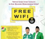 GP Ansor Sediakan Wi-Fi Gratis Siswa Siswi di Bolmut