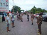 Di Bolmong Kedapatan Warga Tak Pakai Masker, Push Up dan Menyanyi