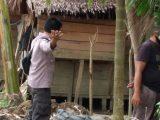 Soal Batas Tanah, Muhdin Tega Habisi Nyawa Arwin Dengan Parang
